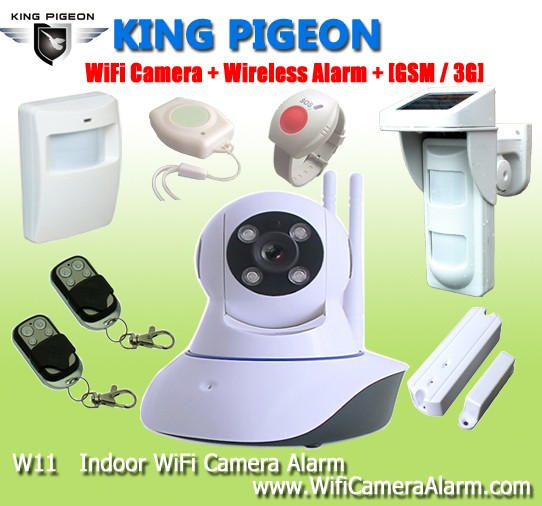 King Pigeon Auto Dialer Wireless Home Security Alarm System K9 ...