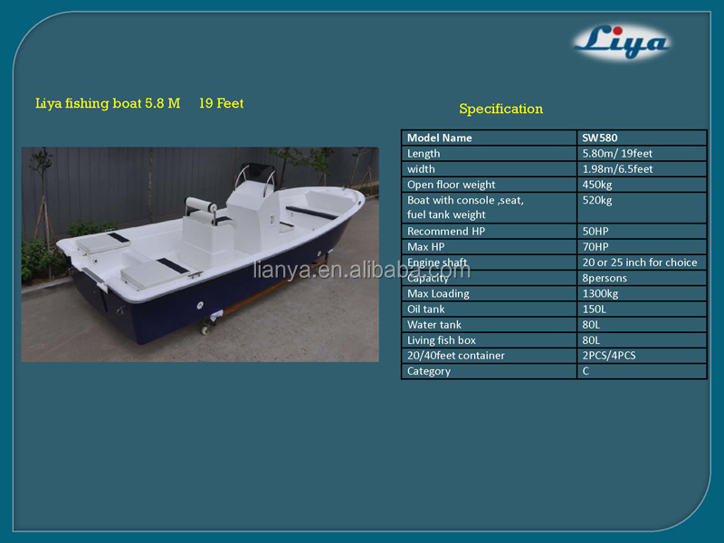 Liya 4 7 6m Offshore Fishing Boats Center Console For Sale In Florida Fishing Boats Cheap Buy Offshore Fishing Boats Center Console Offshore Fishing