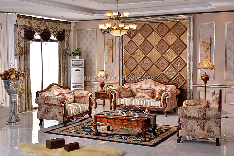 Modern Home Use Cloth Italian Style Sofa Set Living Room Furniture Part 48