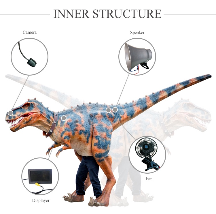 OA5165 Animatronic Baby Dinosaur Puppet for Sale