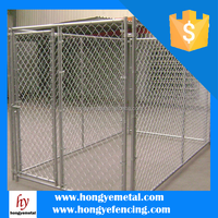 PVC Coated Chain Link Fence / Outdoor Dog Cage