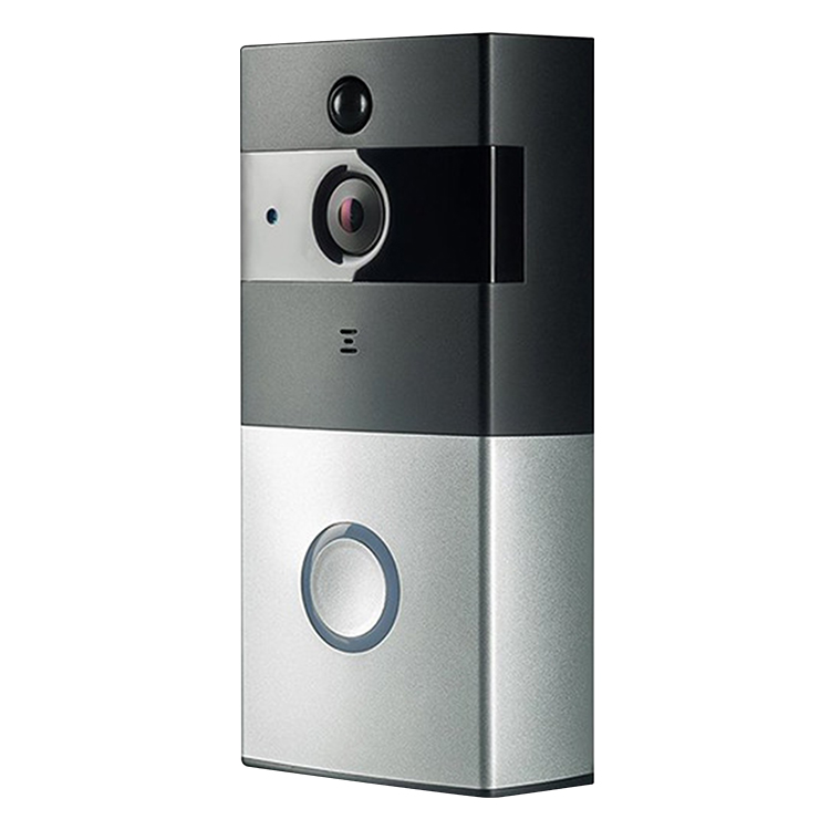 PIR Motion Detection HD IR ring wireless video Doorbell support Video Intercom and Remote Wake up WiFi Doorbell Camera