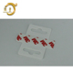 Adhesive euro hole hook sticker hang tabs for retail display