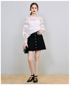 9096410e590 fashion women summer teen girls business slim fit A line miniskirt short  skirt with belt