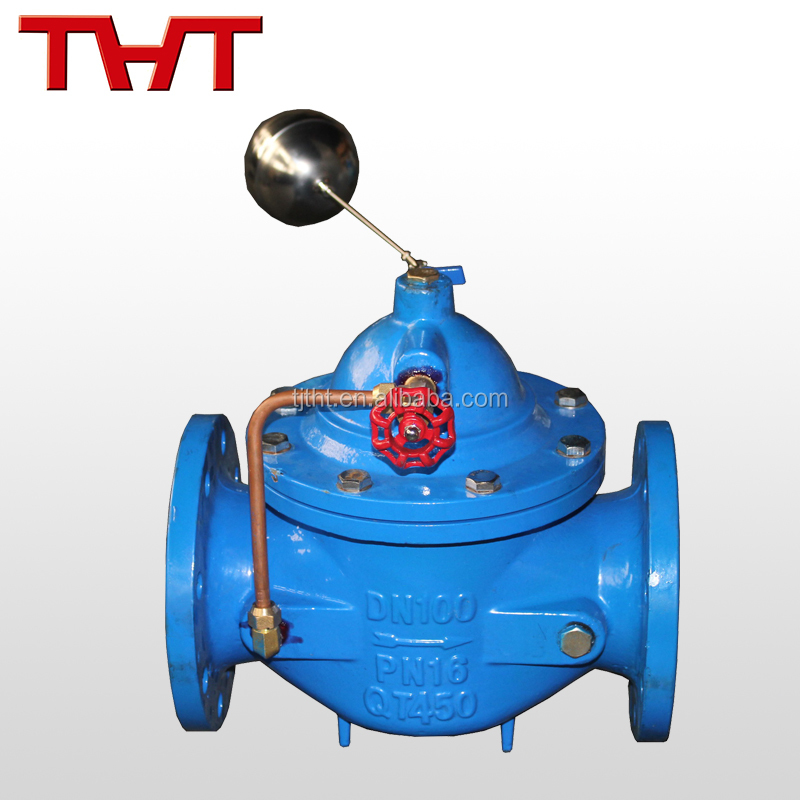 automatic mechanical flange type ball float water level control valve