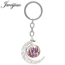 JWEIJIAO 1 шт. Gfriend фото стеклянный брелок, луна, подвесные брелоки, стеклянный кабошон, очаровательные ювелирные изделия, изготовленные на заказ...(China)