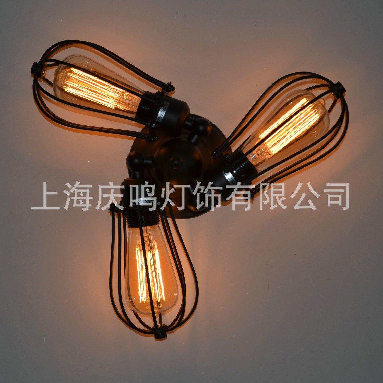 Modern decorative wall lamp LED lamp, decorative lamp, crystal wall lamp , vintage lighting manufacturers , wholesale, Zhongshan Lighting , 60