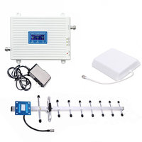 Cell Phone Signal Booster GSM 3G 4G LTE -900/1800/2100Mhz Booster Mobile Phone Signal for Home and Office