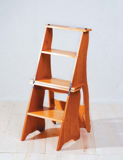 Two Used Folding Stairs Stool u0026 Chair - Buy Ladder Wooden Chair Product on Alibaba.com & Two Used Folding Stairs Stool u0026 Chair - Buy Ladder Wooden Chair ...