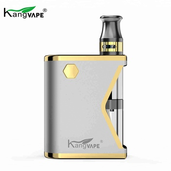 2018 Cheapest kangvape mini K box 400mAh e-cigarette ceramic atomize core Vape Vaporizer kit