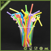 Drinking Straws Bar Accessories Type and Colorful PP Plastic Drinking Straws with Good Price