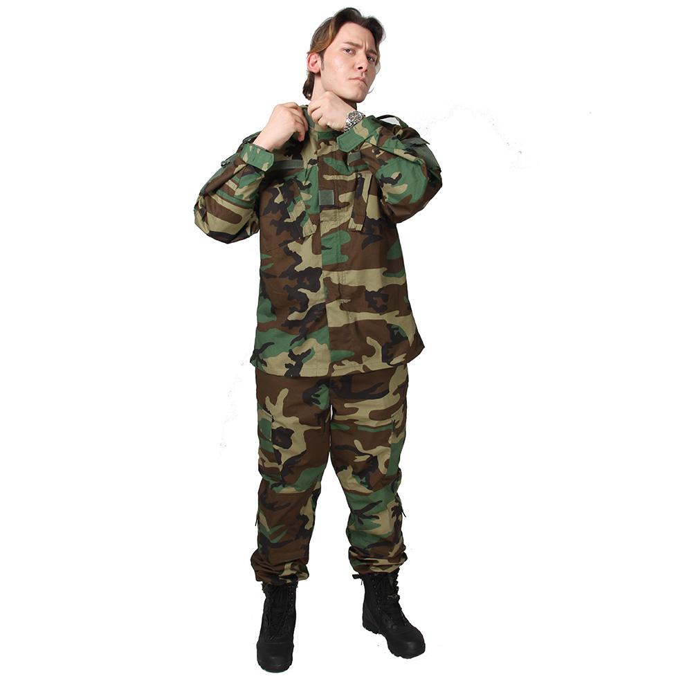 77932d5cdff Fabricantes de Abastecimento de Camuflagem Selva Woodland Uniforme Do  Exército dos homens Americanos