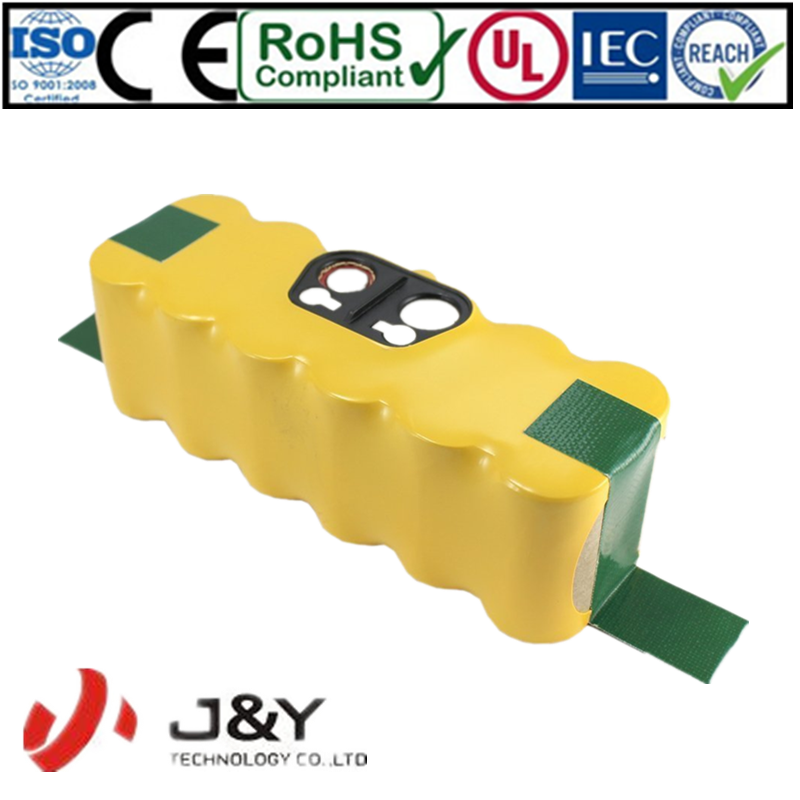 2016 Hot Selling Wholesale Price Recharge Battery Supply For Irobot Roomba 14.4V NI-MH Battery Pack