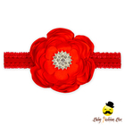 FDK272 Yiwu Yihong wedding hair accessories white paper flower red wedding accessories for bride