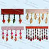 2018 Colorful Curtain Beaded Tassel Fringe 005