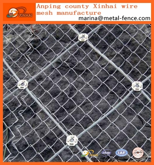 Rockfall Barrier SNS Flexible Protective Mesh Series