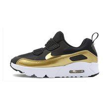 NIKE AIR MAX крошечные 90 обувь для детей Новое поступление дышащие спортивные детские кроссовки удобные #881927-007(Китай)