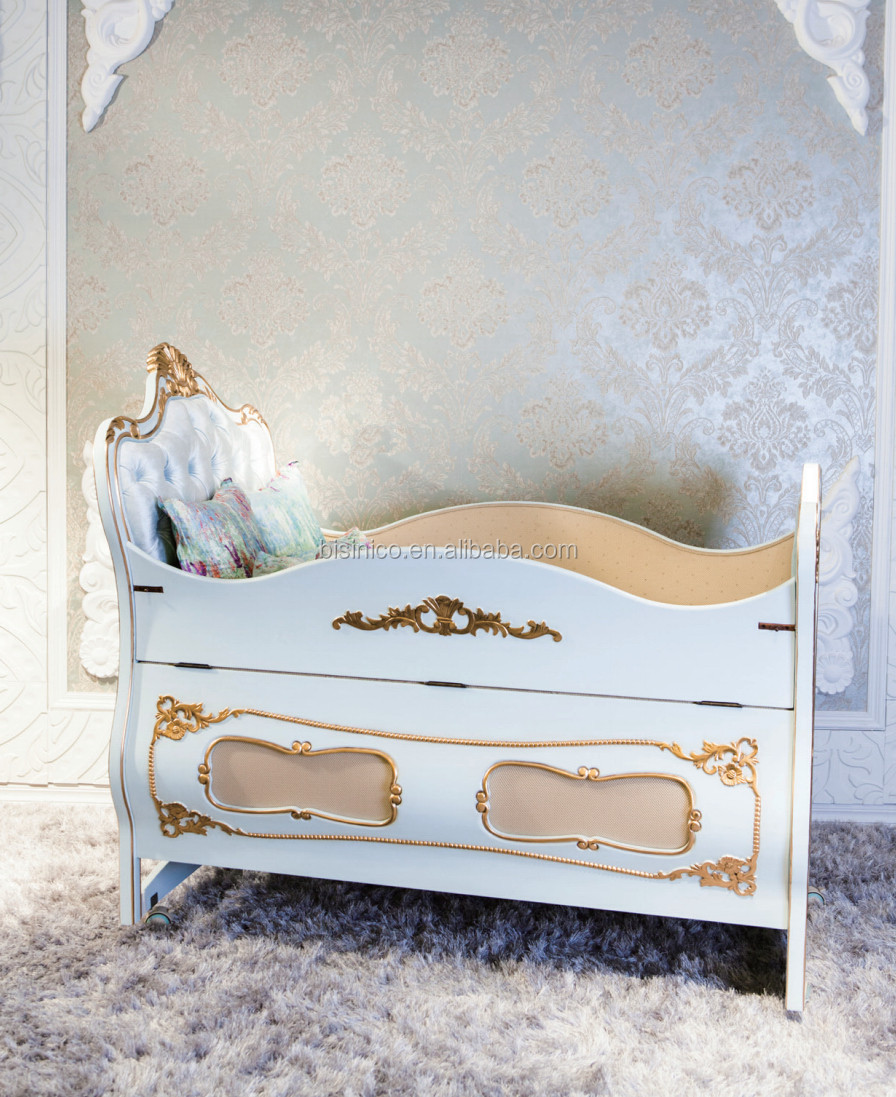Bisini New Arrival Design Bed Side Baby Cot,Luxury Baby Cot Bed ...