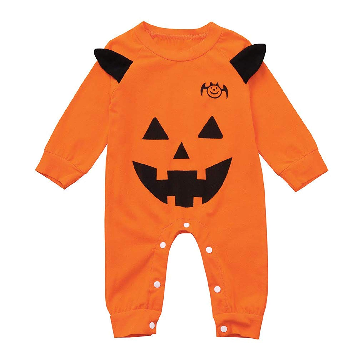 Outtop(TM) Toddler Newborn Infant Baby Girls Boys Cartoon Print Romper Jumpsuit Halloween Outfits