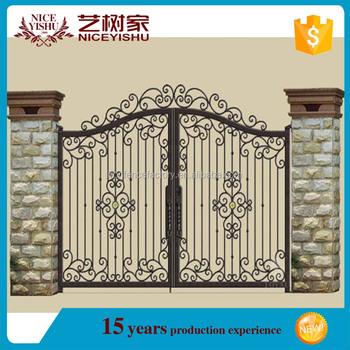 Modern Design Gate Philippines/antique Iron Gate/simple House Gate ...