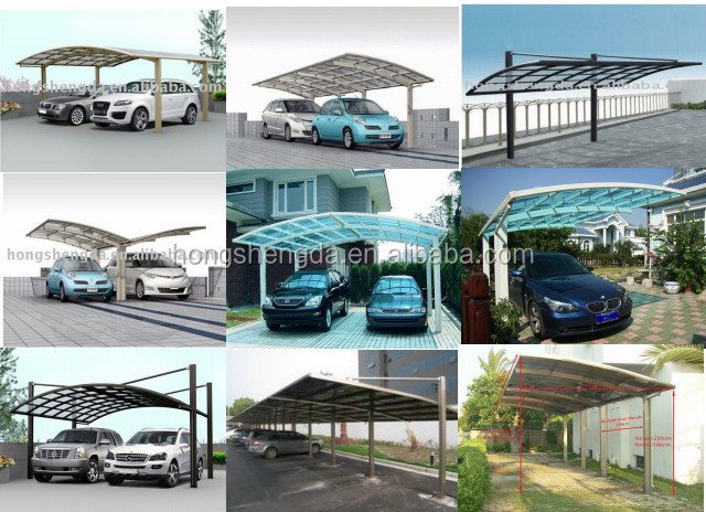 Prefabricated Steel Structure Mobile Car Garage Price