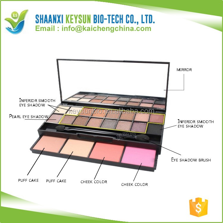 Creat Your Own brand private label eye shadow and shadow eye