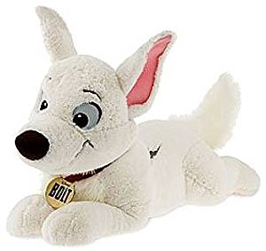 Disney Bolt Movie Exclusive 12 Inch Deluxe Plush Figure Bolt (Lying Down)