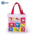 The most attractive and popular adorable hello kitty canvas bag with plastic button closure
