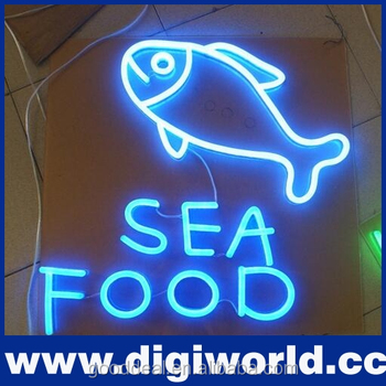 custom made led neon signs for advertising sale