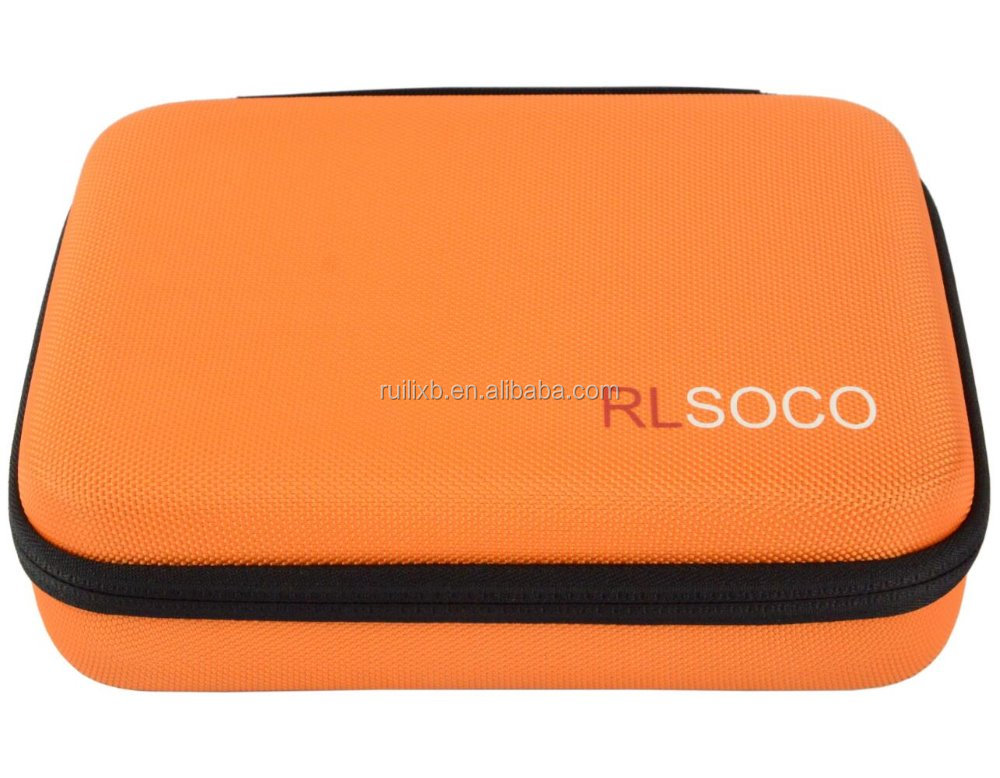 RLSOCO Custom Hard EVA foam molded Case with foam insert for camera