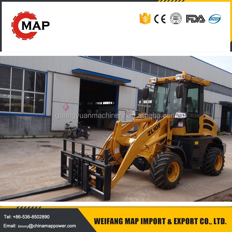 2.5ton China wholesale loader manufacture agricultural mini wheel loader for Canada market