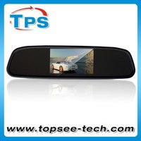 4.3'' car back up mirror with camera