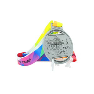 Longzhiyu 12years manufacture professional custom sports medals custom race medal wholesale antique running medals