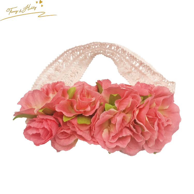 Bridal Headwear Long Light And Shiny Led Flower Floral Hairband Garland Crown Glowing Wreath Vines Headband #6 Sales Of Quality Assurance