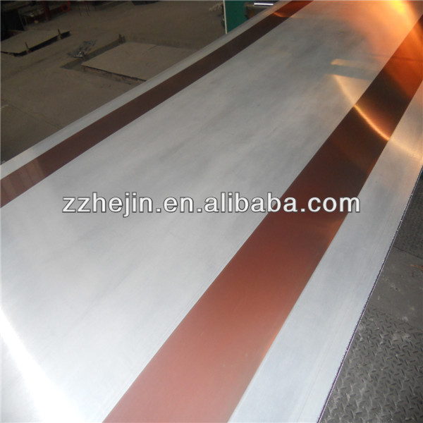 One side or double sided Copper and Aluminum Bimetal