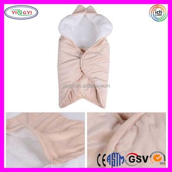 C675 Best Gift Newborn Nest Baby Sleeping Bag Blanket 100 Cotton Wearable
