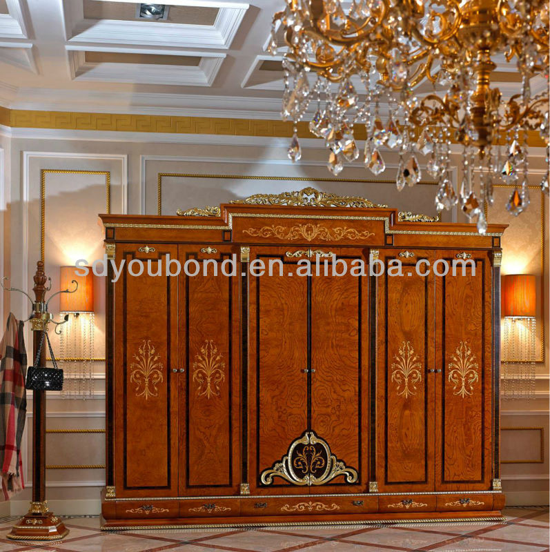 0038 Antique Italy Design Furniture Classic Luxury 6 Door