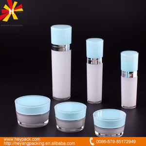 Best selling crystal clear 15g 30g 50g 100g 200g plastic cosmetic acrylic jar