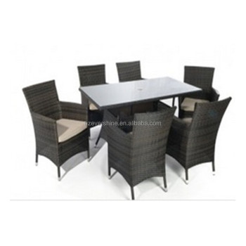 Kd Structure Dining Room Rattan Table And Chair Sets