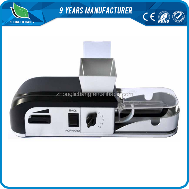 shenzhen household electric cigarette roller/tobacco rolling machine with multiple function