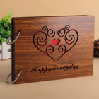 Wholesale 8 Inch DIY Gift Wooden Cover Photo Albums
