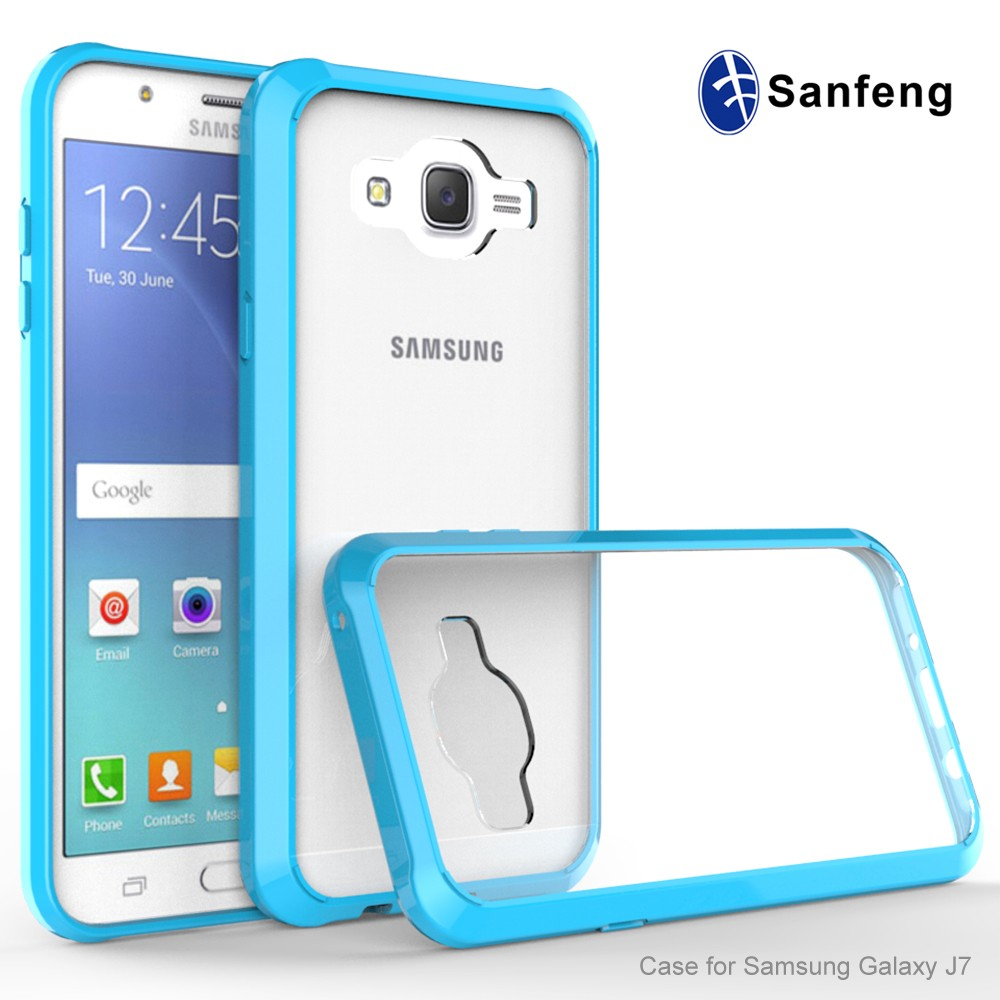 samsung products 2015. best shockproof absorbing acrylic tpu phone case for samsung j7 2015 unlocked alibaba express china products