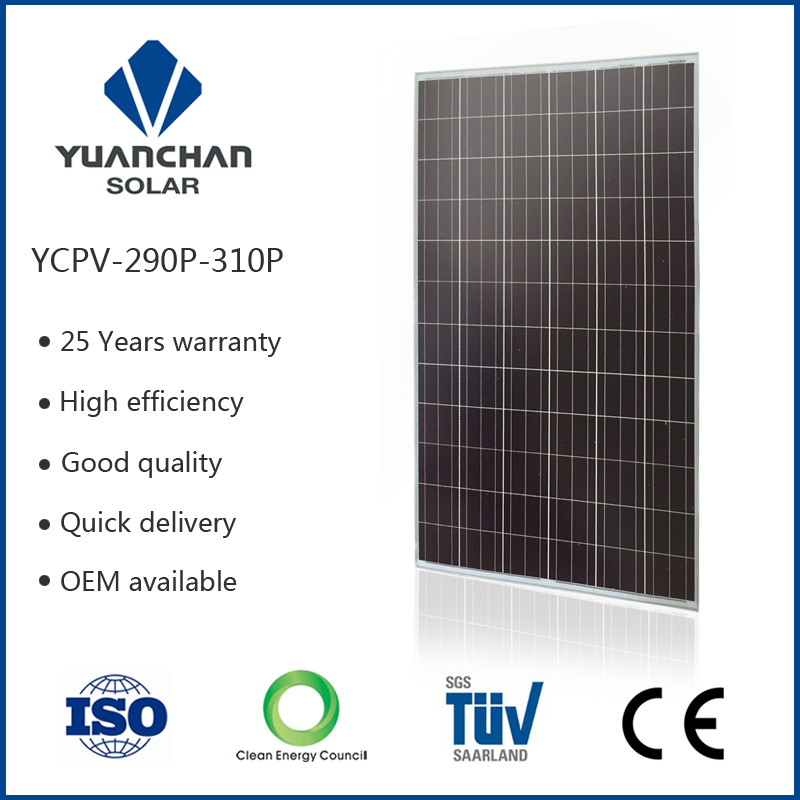Yingli Poly 300watt solar panel for Middle East market with low price and high quality