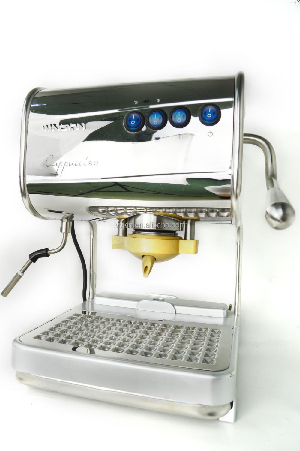 hotel stylish mini cafe machine to make coffee pod buy. Black Bedroom Furniture Sets. Home Design Ideas