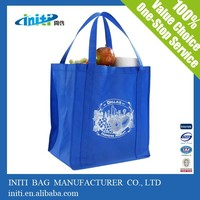 2015 China New Design High Quality Non-woven Material and Folding Style Non Woven Shopping Bag