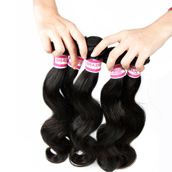 Free Shipping 3 Bundles 6A And 8A Wholesale Body Wave Virgin Brazilian Hair Weave