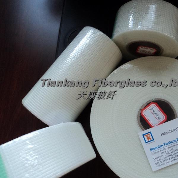 "2 X Fibatape Self Adhesive Crackstop Repair Fabric Fiberglass 6 /"" X 75 /' White"