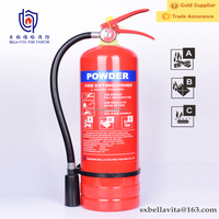 4kg ABC/BC dry chemical powder fire fighting equipment extinguisher