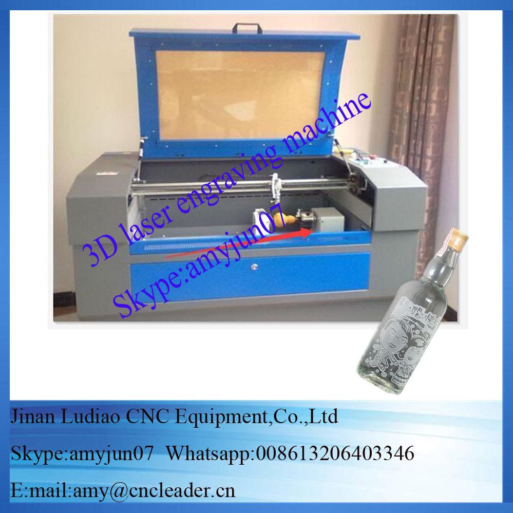 3D Lasergravurmaschine CNClaser Graviergerat Fur Glas Lasergravierer Mit Rotation