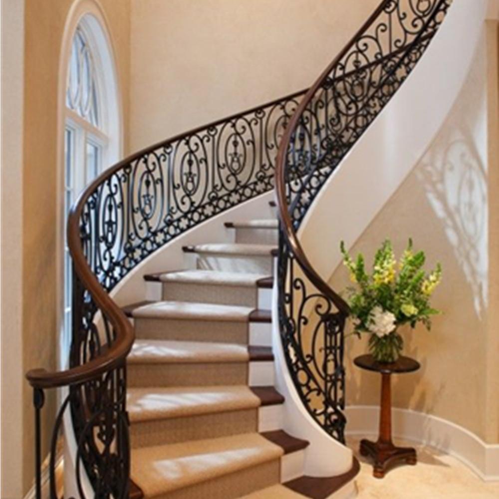 Modern Outdoor Metal Stair Railing,Wrought Iron Stair ...